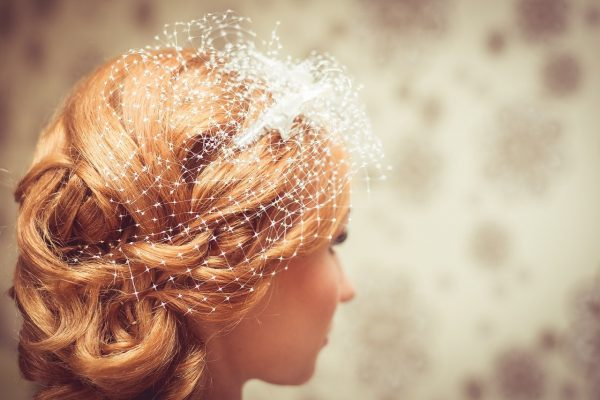 bride, hairstyle, wedding